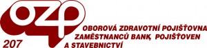 červené logo oborové zdravotní pojišťvny 207 - stomatologie Praha 5